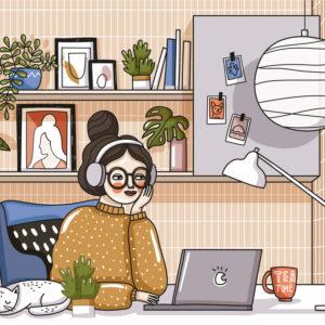 Interview: Herausforderungen im Home-Office?